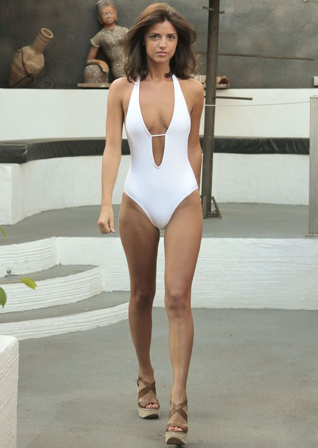 Lucy Mecklenbugh pictured in Marbella, Spain 23 May 2013