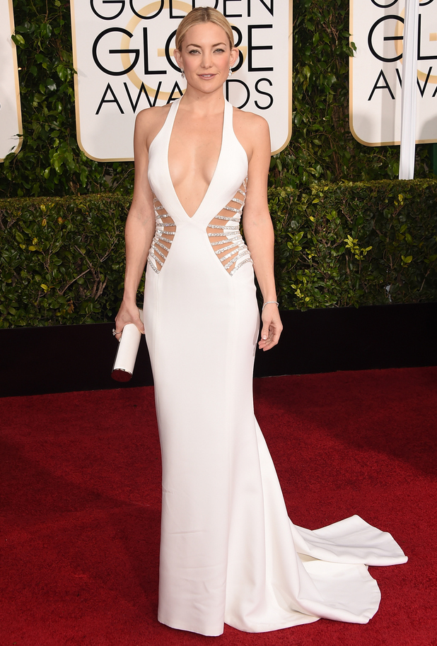 Kate Hudson attends the 72nd annual Golden Globes in Los Angeles - 11 January 2015