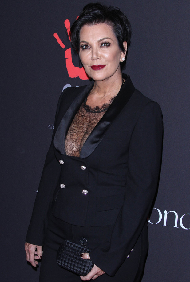 Kris Jenner at Rihanna's First Annual Diamond Ball Benefitting the Clara Lionel Foundation held at The Vineyard Beverly Hills - 12/11/2014.