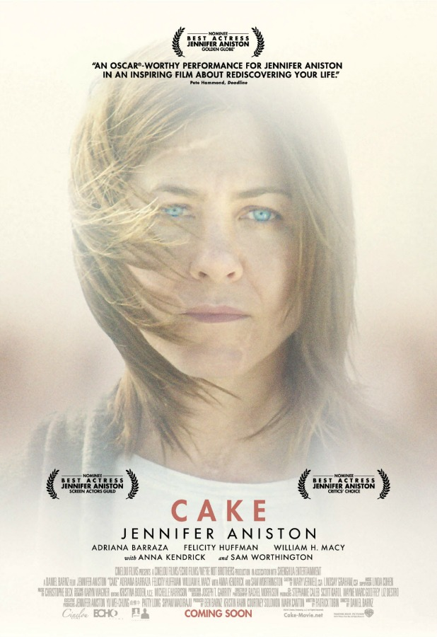 Jennifer Aniston in Cake: official poster