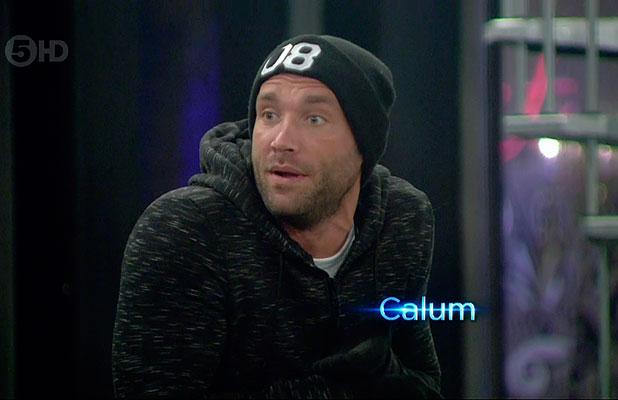 Celebrity Big Brother: Calum Best during Fairytale Task, January 2015