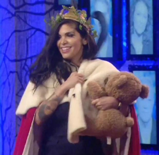 Celebrity Big Brother', Elstree Studios, Hertfordshire, Britain - 13 Jan 2015 Cami Li becomes Queen of the Fairies