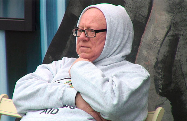 CBB: Ken Morley pictured in house, 11 January 2015