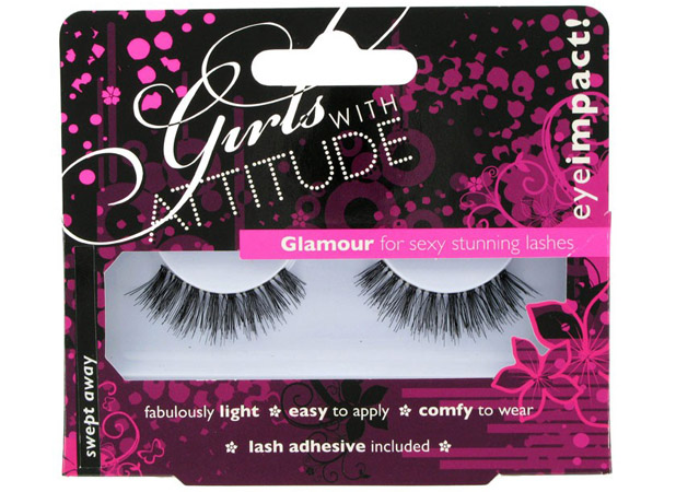 Girls With Attitude Glamour Lashes in Swept Away, £5, girlswithattitude.co.uk