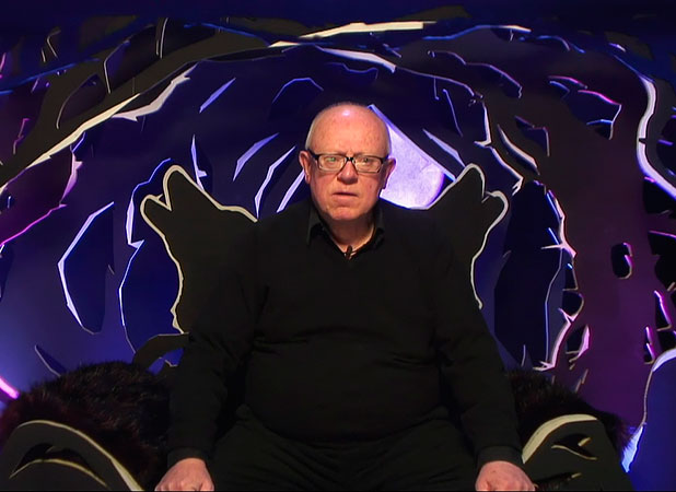 Ken Morley is told he must leave Celebrity Big Brother, 12 January 2015