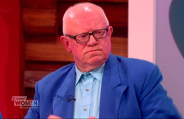Ken Morley appears on 'Loose Women', 13 January 2015