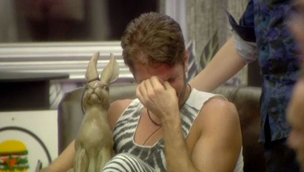 CBB: Perez Hilton cries after learning of Ken Morley's exit, 13 January 2014