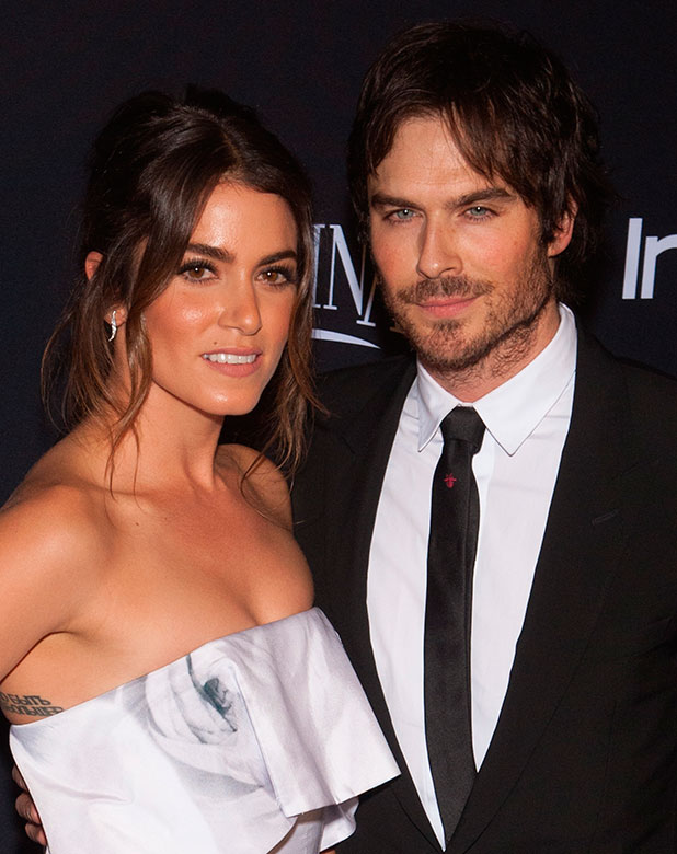 Ian Somerhalder and Nikki Reed at 16th Annual InStyle and Warner Bros. Golden Globe After Party - Arrivals, 12 January 2015