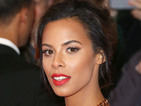 Copy Rochelle Humes' contoured skin and bold red lips - exact products!