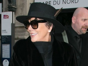 Kris Jenner leaves London after whirlwind visit and arrives in Paris