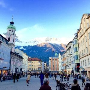 Alik Alfus visits Louise Thompson in Austria 20 January