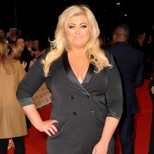 Gemma Collins attends the National Television Awards at 02 Arena on January 21, 2015 in London, England. (Photo by Dave J Hogan/Getty Images)