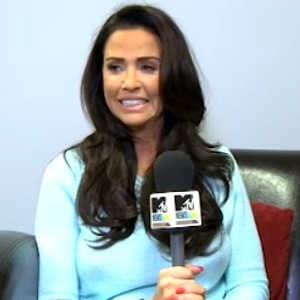 Katie Price gives interview to MTV before CBB entrance - 19 Jan 2015