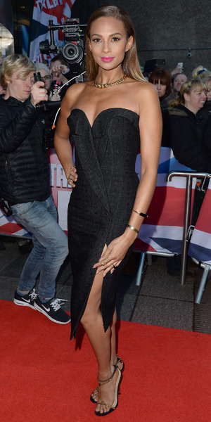 Alesha Dixon at Britain's Got Talent auditions, Edinburgh, Scotland 19 January