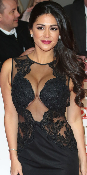 Casey Batchelor at the Nation Television Awards 2015, The O2 21 January