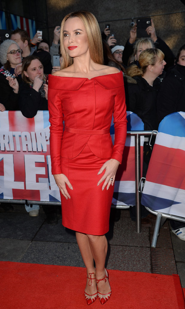 Amanda Holden at the Britain's Got Talent auditions, Edinburgh, Scotland 19 January