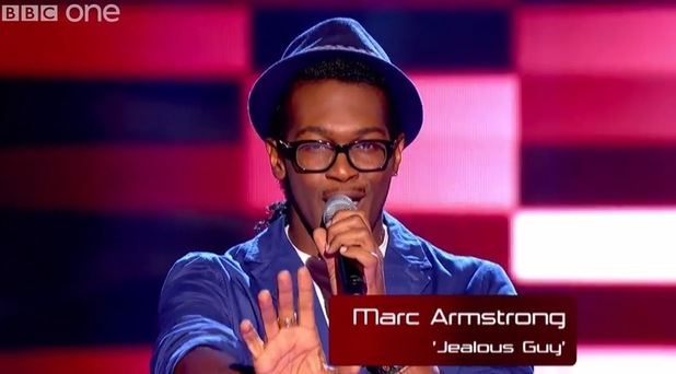 JB Gill's cousin Marc Armstrong auditions for The Voice UK - 17 January.
