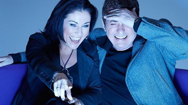EastEnders stars Shane Richie and Jessie Wallace to appear on EastEnders: Back to Ours. 23/1/2015.