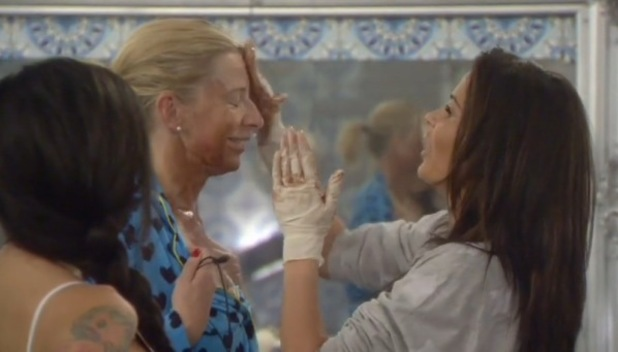 Katie Price fake tans Katie Hopkins, CBB 18 January