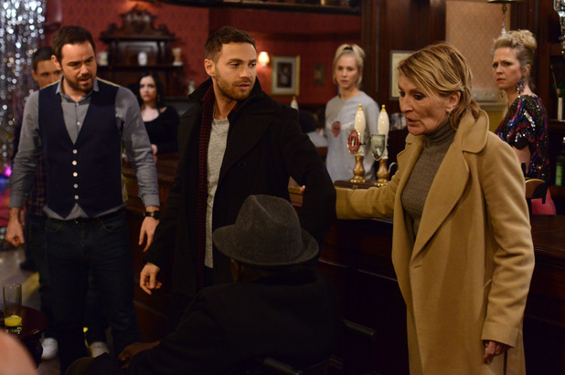 EastEnders, Mick throws Dean out of the pub, Mon 26 Jan