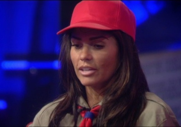Katie Price makes Katie Hopkins cry during honesty task - 20 January 2015