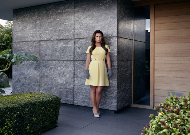 Coleen Rooney models her spring/summer '15 collection for Littlewoods - 19 January 2015