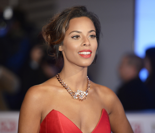 Rochelle Humes attends the National Television Awards, held at The O2 in London - 21 January 2015