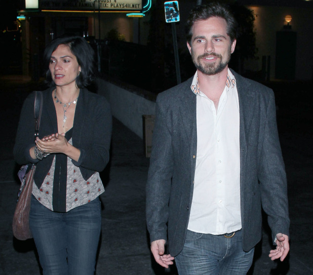 Rider Strong and wife Alexandra at Brick Yard Nightclub in North Hollywood - 26/6/2013