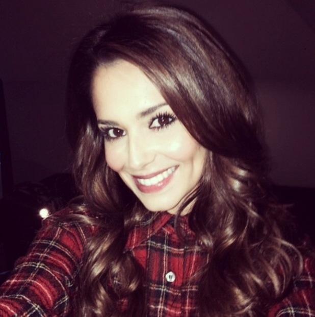 Cheryl Fernandez-Versini posts selfie, 23/1/15