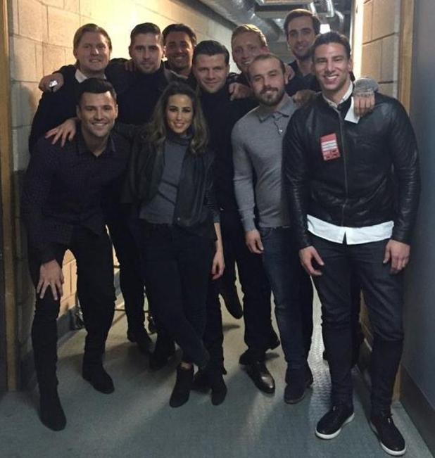 Mark Wright treats his friends to a picture with Rachel Stevens - 21 Jan 2015