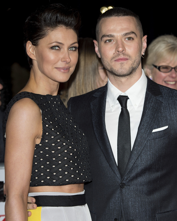 Emma Willis and Matt Willis attend the National Television Awards at 02 Arena on January 21, 2015 in London, England.