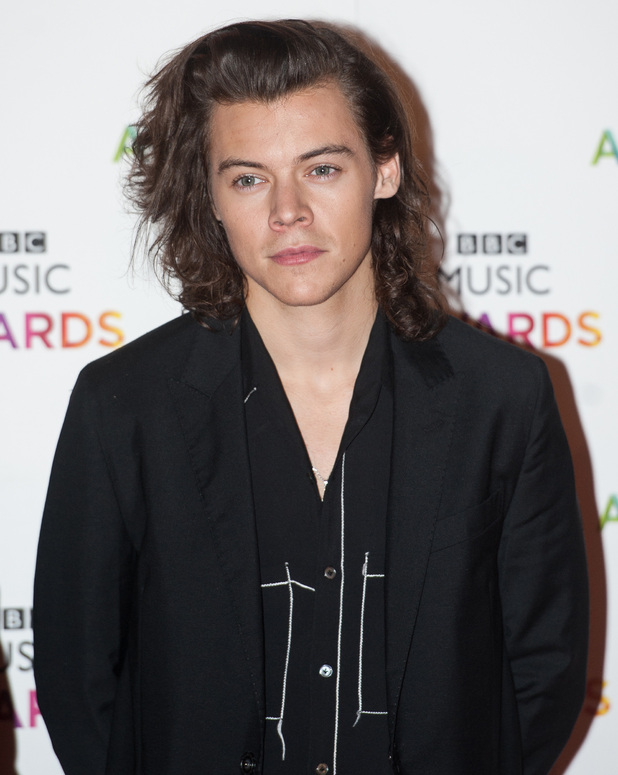Harry Styles, BBC Music Awards held at the Earls Court Exhibition Centre, London 11 December 2014