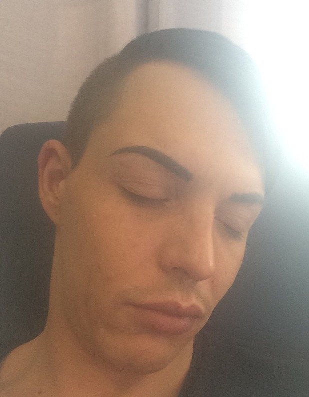 Bobby Norris sleeping after the NTAs
