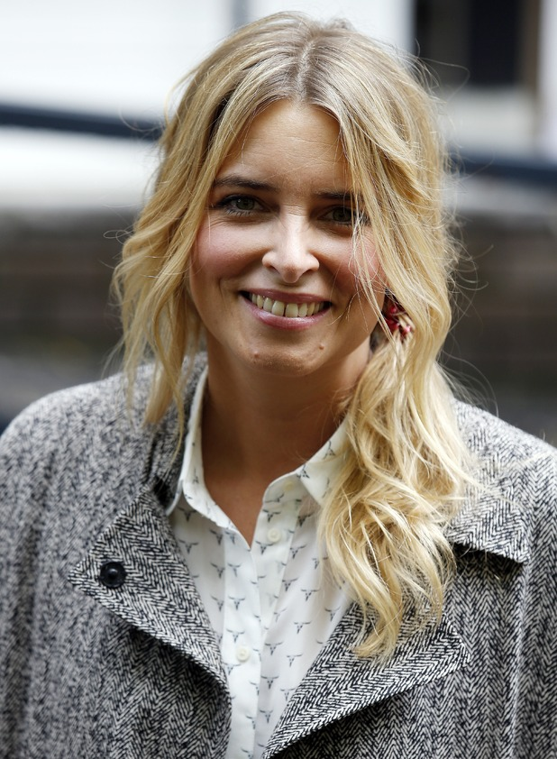 Emma Atkins sighted leaving the ITV Studios.3 May 13, 2014 in London, England.