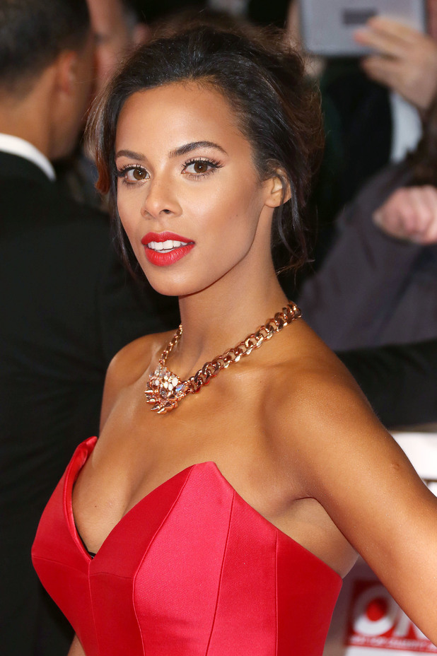 Rochelle Humes attends the National Television Awards held at The O2 in London - 21 January 2015