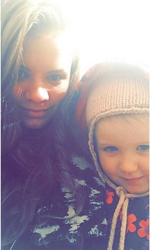 CBB: Alicia Douvall's daughters Georgia and Papaya support her with sweet picture, January 2015