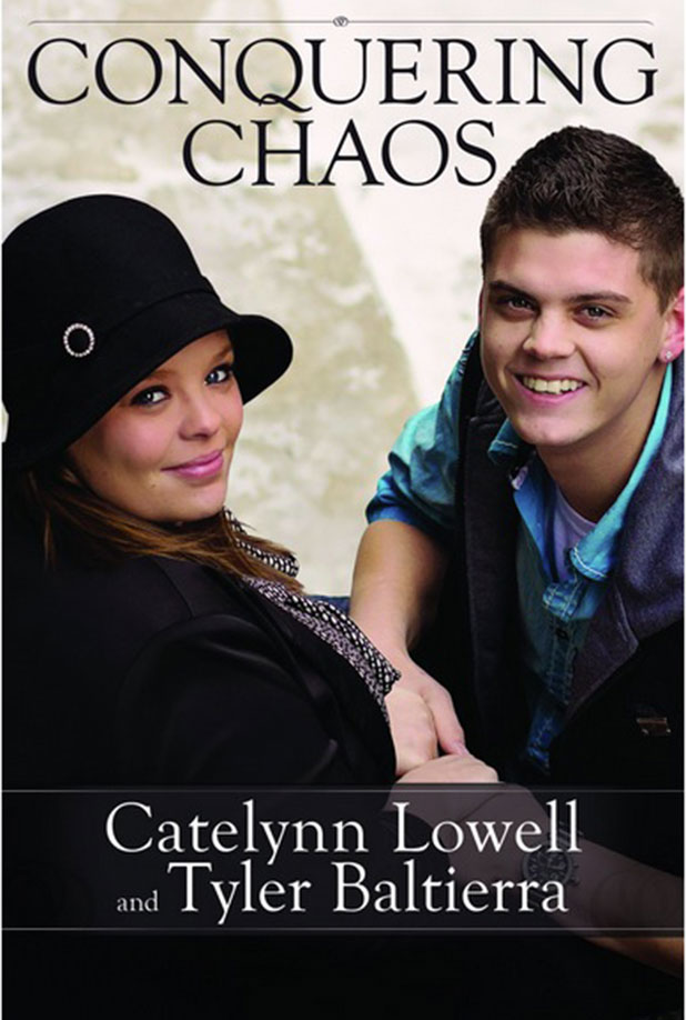Catelynn Lowell and Tyler Baltierra releasing new book Conquering Chaos, Amazon, 2015
