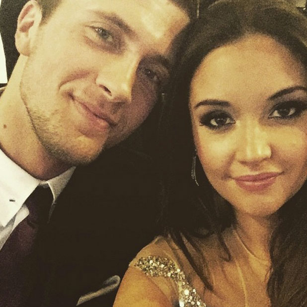 Jacqueline Jossa and Dan Osborne at the NTAs, London, 21 January 2015