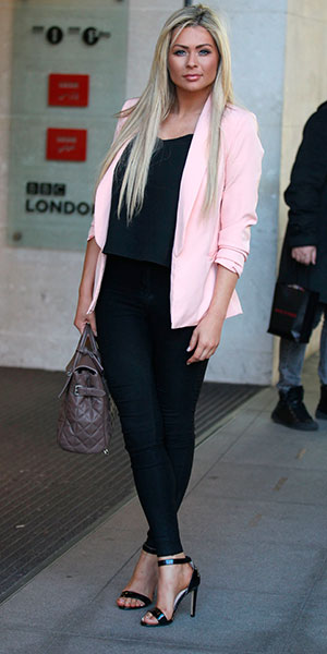 Nicola McLean at BBC Radio 1 Studios, London, Britain - 20 Jan 2015