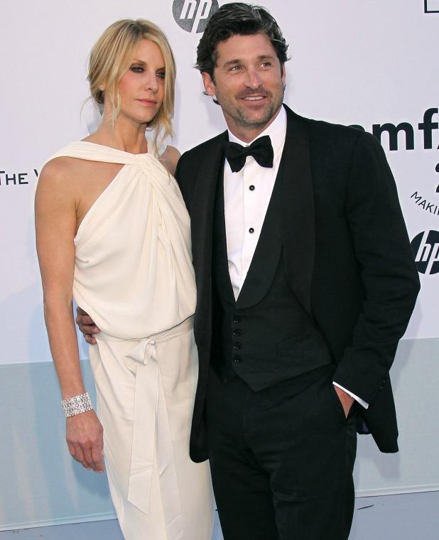 Patrick Dempsey and Jillian Dempsey at 2011 Cannes International Film Festival - Day 9 - amfAR Cinema Against AIDS Gala - Arrivals Cap d'