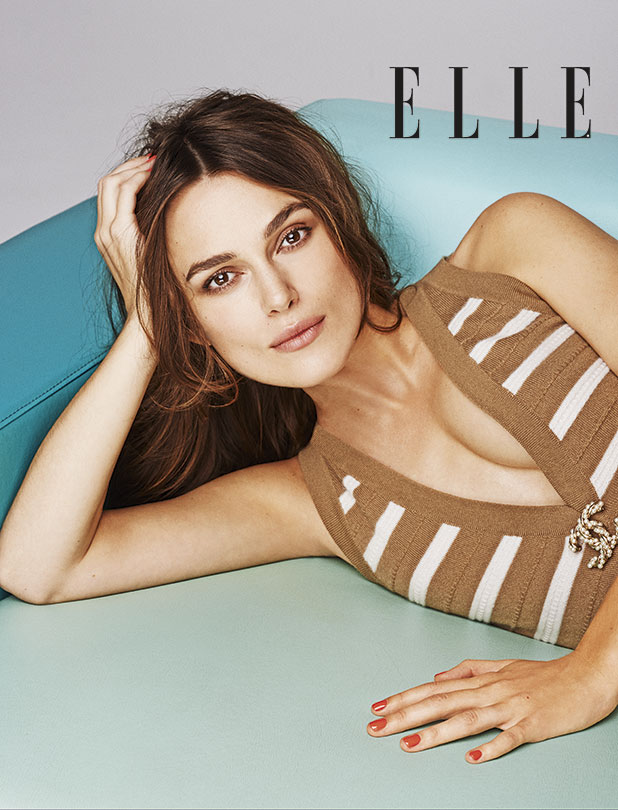 Keira Knightley is the March 2015 cover star for ELLE UK, on sale on 29 January 2015.