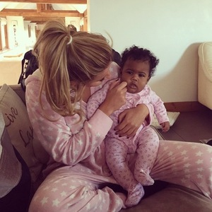 Georgia Kousoulou shares a photo with Danni Park Dempsey's daughter Summer Rose