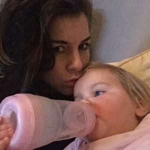 Imogen Thomas and daughter Ariana 10 January