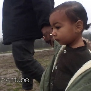 Kanye West unveils preview of 'Only One' music video - 28 January 2015.