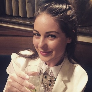 Louise Thompson returns home to Chelsea after The Jump training 29 January
