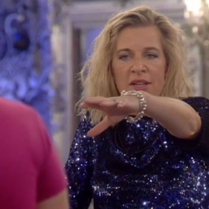 Katie Hopkins confronts Perez Hilton after his return to CBB - 28 Jan 2015