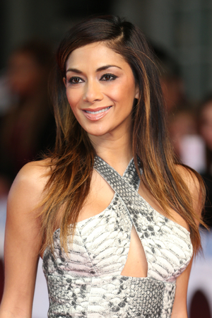 Nicole Scherzinger attends the premiere of Selma at the Curzon Cinema in Mayfair, London - 27 January 2015