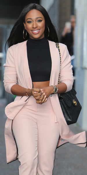 Alexandra Burke appears on Good Morning Britain, ITV Studios, London 29 January