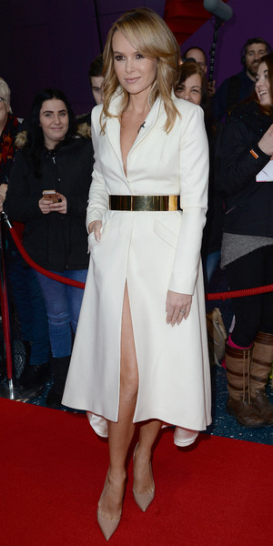 Amanda Holden at second round of Britain's Got Talent auditions, Manchester 29 January