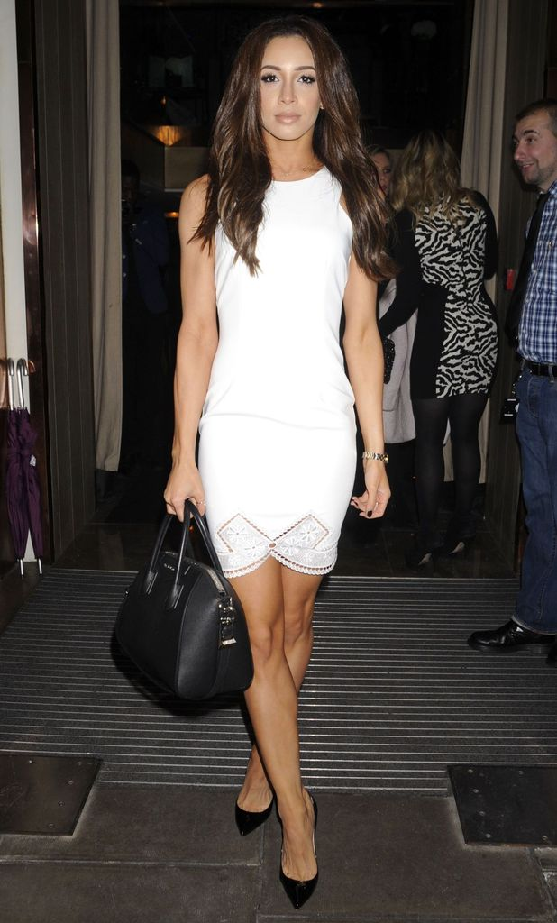 Danielle Peazer attends the PRIV launch party at The Belgraves Hotel in London, England - 29 January 2015